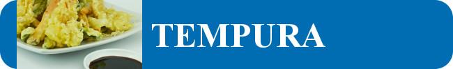 TEMPURA (Carnes, pollo, mariscos y verduras capeadas de harina de tempura)